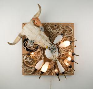 Erstletzdaserste by Daniel Spoerri contemporary artwork