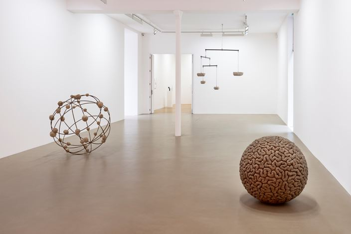 Exhibition view: Mona Hatoum, Galerie Chantal Crousel, Paris (12 October–21 December 2019). Courtesy the artist and Galerie Chantal Crousel, Paris. Photo: Florian Kleinefenn.