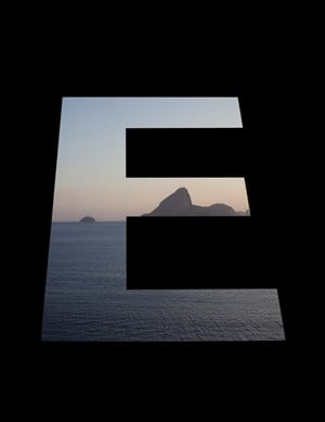 E by Marcos Chaves contemporary artwork