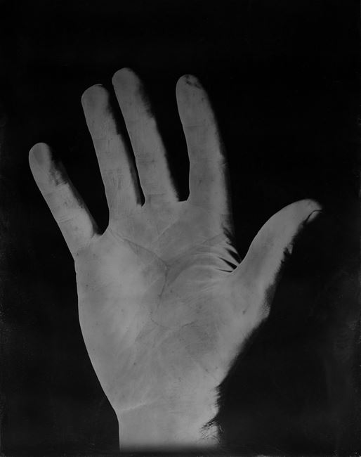 Hand of the Artist's Father, Hand of the Artist, Hand of the Artist's Son by Simon Starling contemporary artwork