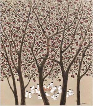 A Feast in Autumn 话秋 by Sanzi contemporary artwork