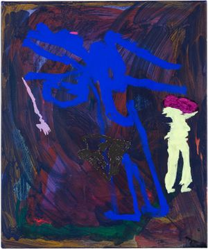 where do you go, when no one knows by Tom Polo contemporary artwork