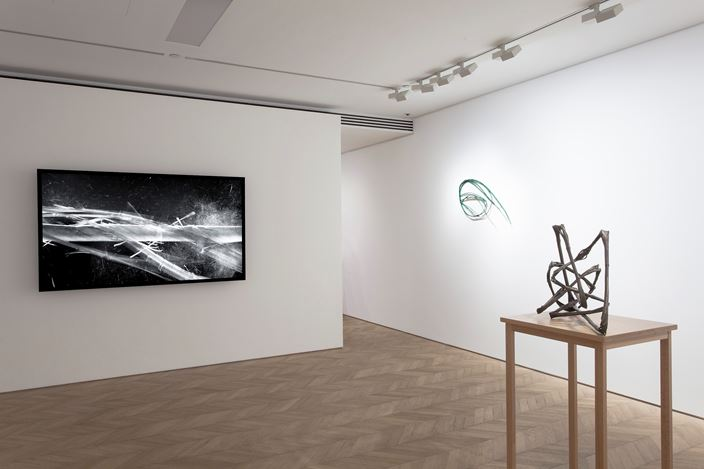 Exhibition view: Xiao Yu, BB, Pace Gallery, Entertainment Building, Hong Kong (26 March–11 May 2019). Courtesy the artist and Pace Gallery.