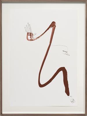 Autoportrait avec pouce opposable XXXI by Abraham Cruzvillegas contemporary artwork