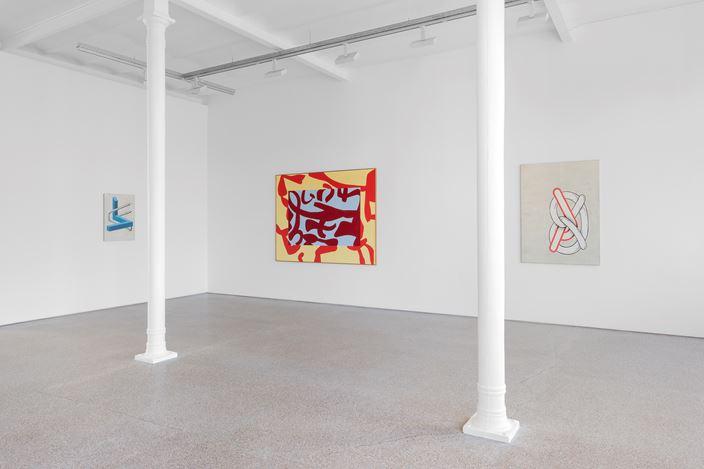 Exhibition view: Group Exhibition, Di fuochi e accesi sensi, Galerie Greta Meert, Brussels (5 September–19 October 2019). Courtesy Galerie Greta Meert.