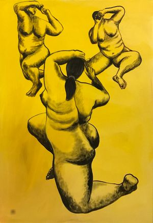 Naked Truth (21) by Artist A contemporary artwork