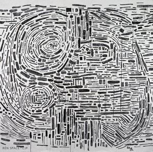 Circle 2016-JA by Yu Youhan contemporary artwork