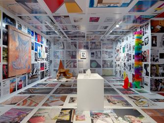 Exhibition view: Group Exhibition, Family Guy, Organised by Kenny Schahcter, Simon Lee Gallery, London (3 October–20 October 2018). Courtesy the artist andSimon Lee Gallery.