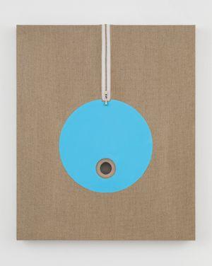 Lot 082007/20 (IOo, catabolic blue) by Donald Moffett contemporary artwork