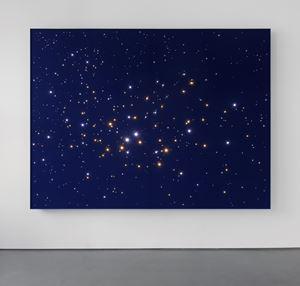 Night Sky Blue: Jupiter & Saturn in Capricorn.12 by Angela Bulloch contemporary artwork