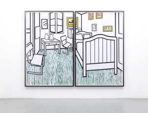Untitled (Bedroom at Aries) by Jose Dávila contemporary artwork