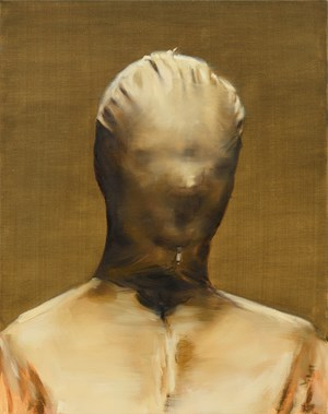 Becky by Michaël Borremans contemporary artwork
