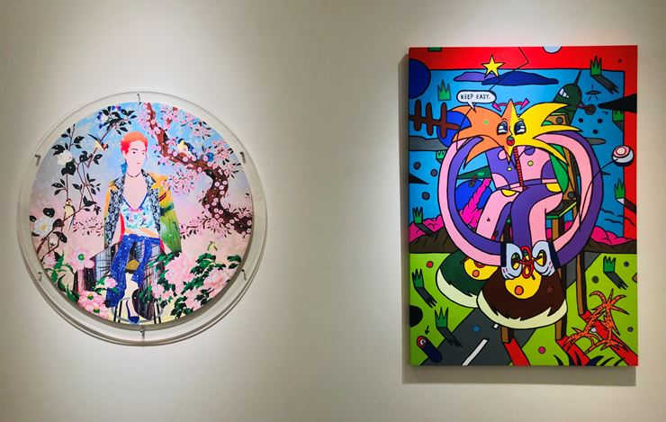 Exhibition view: Group exhibition,MR+. GIN HUANG Gallery, Taiwan (23 July–15 August 2020). Courtesy GIN HUANG Gallery.