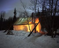 Home, Yukon by Bruno Augsburger contemporary artwork photography