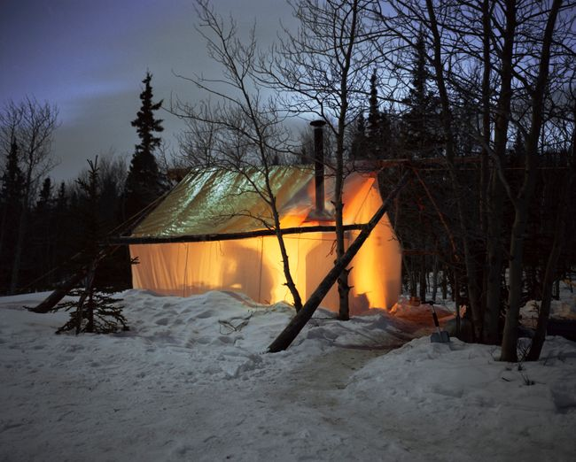 Home, Yukon by Bruno Augsburger contemporary artwork