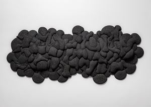 Swell#6(Black SIC) by Kohei Nawa contemporary artwork
