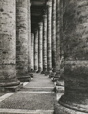 Rome, Columns by Lisette Model contemporary artwork