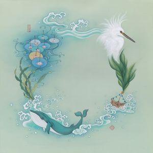 No Man is an Island by Cheuk Ka-Wai, Cherie contemporary artwork