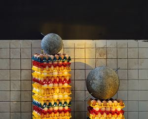 Stones and Eggs 石与蛋 by Chen Wei contemporary artwork