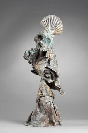 Le Pèlerin by Joan Miró contemporary artwork sculpture