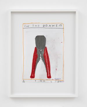 Tool by Rose Wylie contemporary artwork