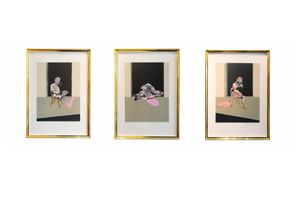 Triptych August by Francis Bacon contemporary artwork