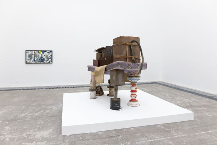 Exhibition view:Group Exhibition, Winter Group Exhibition,ShanghART, Beijing (27 December 2019–16 February 2020).Courtesy ShanghART.