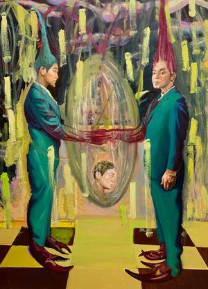 我的面容、我的心,简洁如画 by Xu Bacheng contemporary artwork