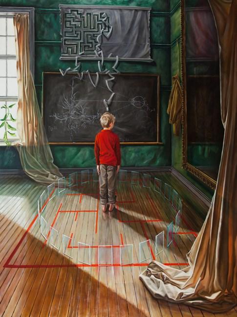 The Zoetrope by David O'Kane contemporary artwork