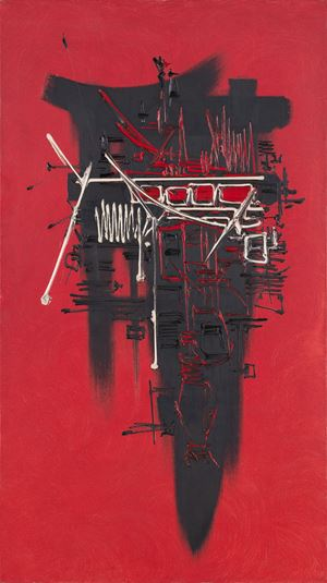 Lasgaroth by Georges Mathieu contemporary artwork