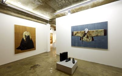 Exhibition view: Helena Parada Kim and Andreas Blanks, CHOI&LAGER Gallery Seoul (28 February–28 March 2018). Courtesy CHOI&LAGER Gallery.
