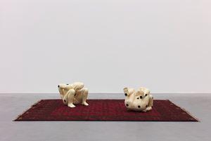 God dobbelt niet by Patrick Van Caeckenbergh contemporary artwork works on paper, sculpture
