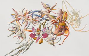 Float III recto by Miron Schmückle contemporary artwork