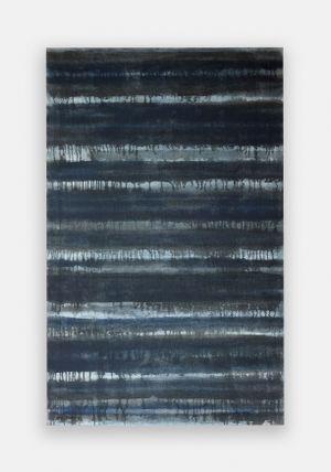 Burnt Umber & Ultramarine by Yun Hyong-keun contemporary artwork painting