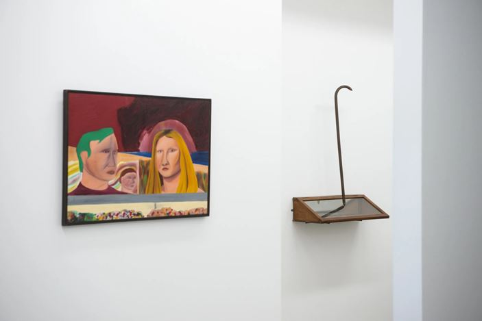 Exhibition view: Spring Winds: A Survey of Important Works, PAGE Galleries, Wellington (12 November–5 December 2020). Courtesy PAGE Galleries.