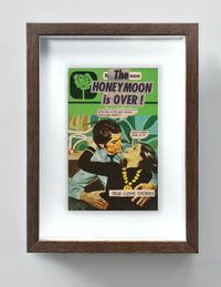 The Honeymoon Is Over by The Connor Brothers contemporary artwork painting, works on paper, photography, print