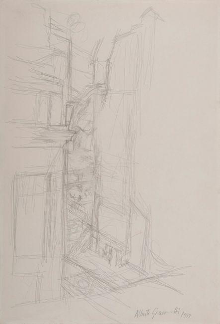 Coin de rue by Alberto Giacometti contemporary artwork