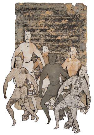 Masked Daoke by Lee Ming-tse contemporary artwork