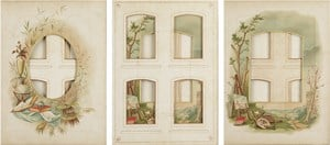 Every even page from a nineteenth century photo album #16-18 by Izabela Pluta contemporary artwork