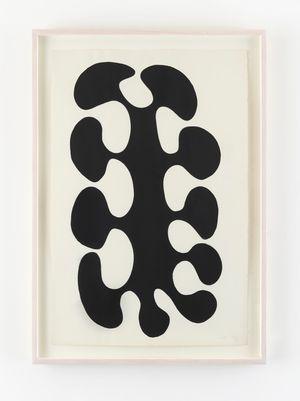 Black-Black by Leon Polk Smith contemporary artwork
