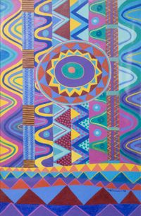 Astral Traveling #2 by Gerald Williams contemporary artwork painting