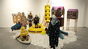Contemporary art exhibition, Xu Bacheng, Island of Immortality 永生之岛 at Arario Gallery, Shanghai