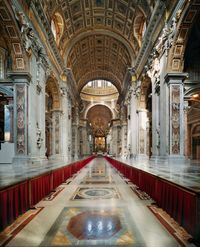 St. Peter's Basilica, Vatican City by Ahmet Ertug contemporary artwork photography