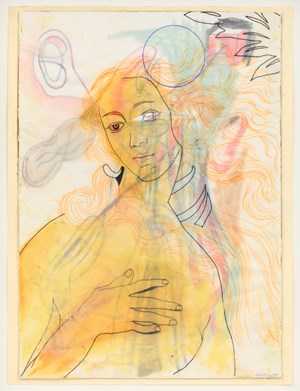 Botticelli 1 by Anne-Mie Van Kerckhoven contemporary artwork