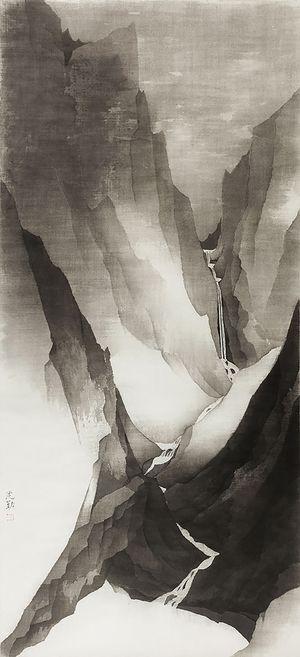Mountain 20-3 by Shen Qin contemporary artwork