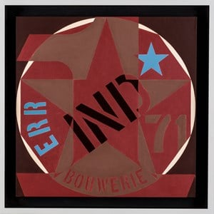 Decade: Autoportrait 1968 by Robert Indiana contemporary artwork
