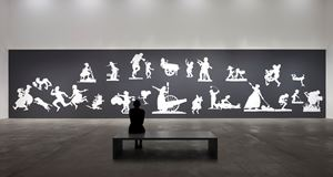 THE SOVEREIGN CITIZENS SESQUICENTENNIAL CIVIL WARCELEBRATION by Kara Walker contemporary artwork