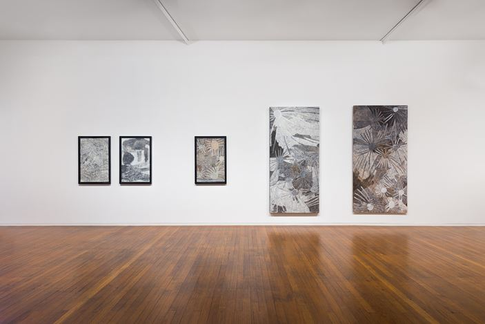 installation view, Nyapanyapa Yunupiŋu:The Little Things, Roslyn Oxley9 Gallery, Sydney (28 January – 27 February 2021). photo: Luis Power