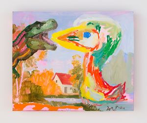 the encounter (after Asger Jorn 1959) by Tursic & Mille contemporary artwork