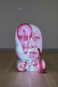 EntroP by Tony Oursler contemporary artwork painting, works on paper, sculpture, moving image